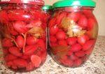 Кизил маринованный рецепт – рецепт маринада для кизила под оливки и по-азербайджански с лимонной кислотой