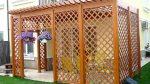 Деревянная сетка – Декоративная решетка для беседки своими руками