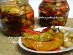 Острый перец в масле на зиму рецепты с фото – Маринованный острый перец с маслом и чесноком